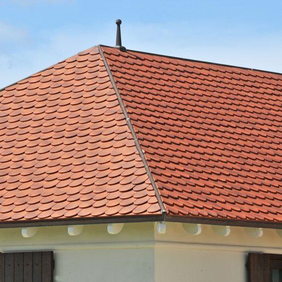 Clay Shingle Tile