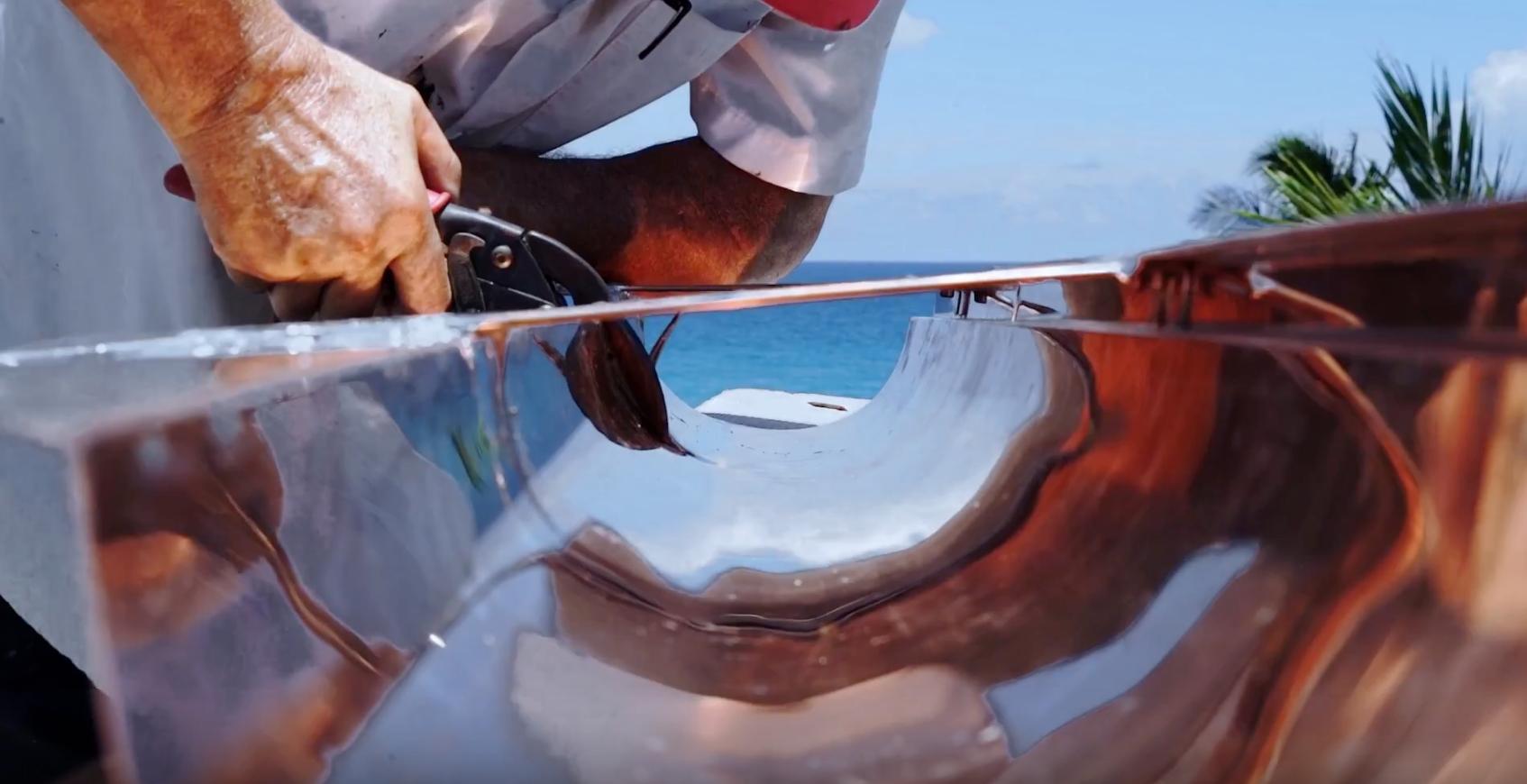 Custom Copper Gutters 3
